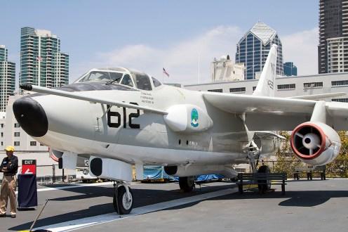 © Adam Duffield • Douglas EKA-3B Skywarrior 142251 • USS Midway Museum