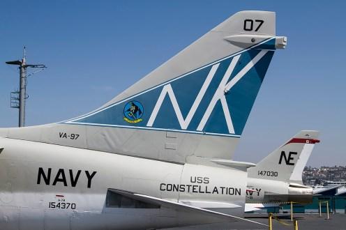 © Adam Duffield • LTV A-7B 154370 • USS Midway Museum