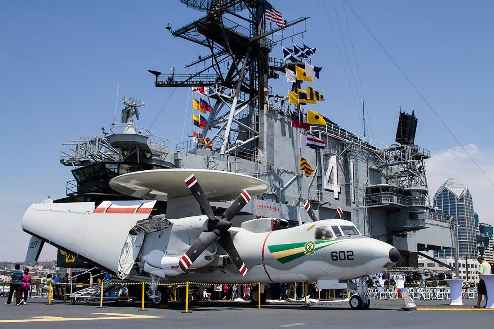 © Adam Duffield • Grumman E-2C Hawkeye 161227 • USS Midway Museum