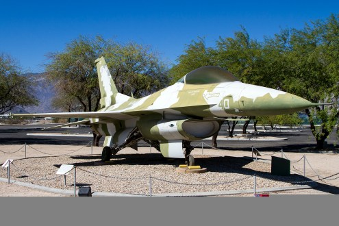 © Adam Duffield • General Dynamics F-16N 163277 • Palm Springs Air Museum
