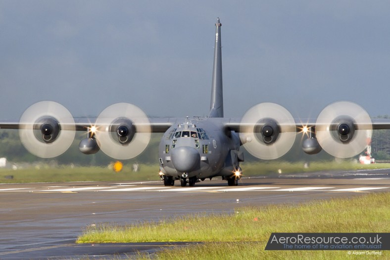 © Adam Duffield • MC-130H Combat Talon II 88-0195 • 352nd Special Operations Wing