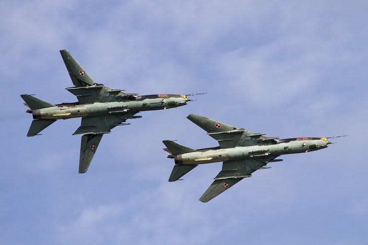 © Adam Duffield • Sukhoi Su-22 Fitter Pair • Air14 Payerne Weekend 1