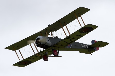 © Adam Duffield • Avro 504K E.3272 (G-ADEV) • Shuttleworth LAA Party in the Park