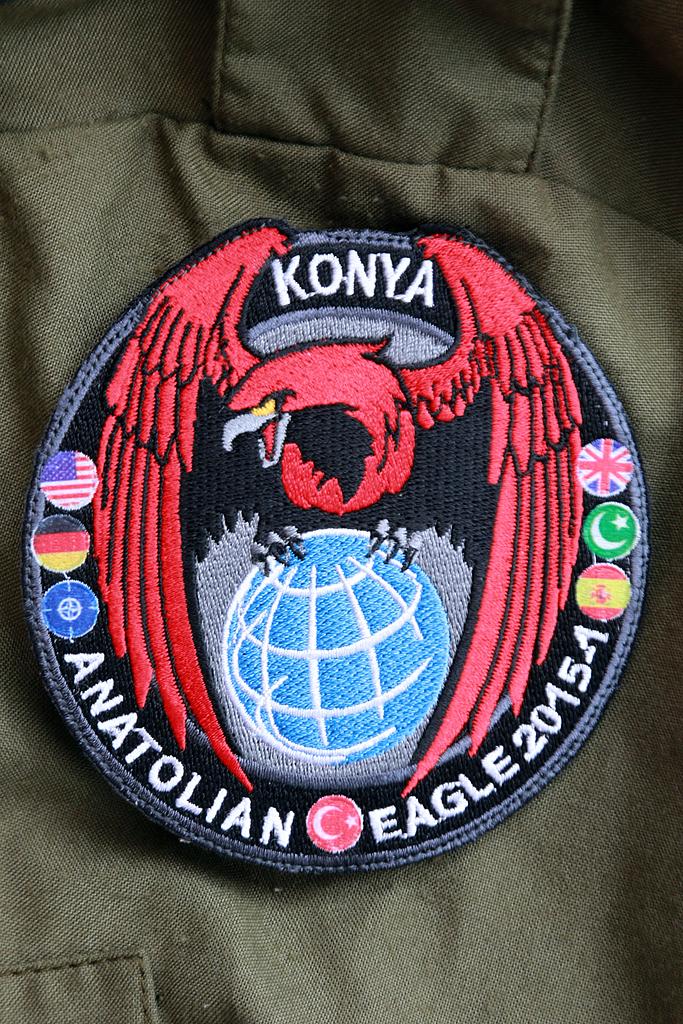 © Mark Kwiatkowski • Anatolian Eagle Patch • Anatolian Eagle 2015