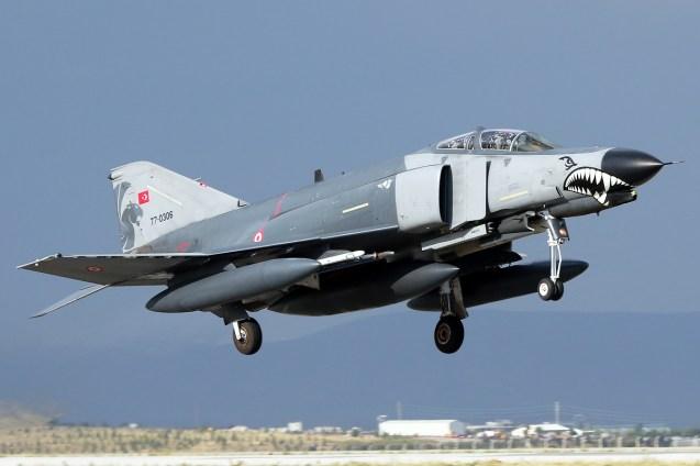 © Mark Kwiatkowski • TuAF F-4D 77-0306 • Anatolian Eagle 2015