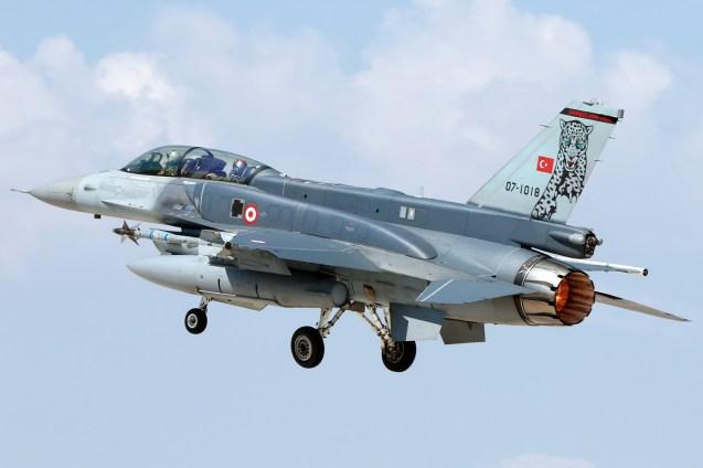 © Mark Kwiatkowski • TuAF F-16D 07-1018 • Anatolian Eagle 2015