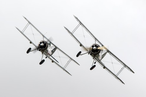 © Adam Duffield • Gloster Gladiator Pair • Flying Legends 2015