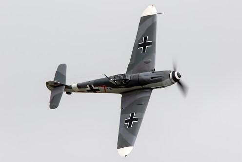 © Adam Duffield • Messerschmitt Bf-109 D-FWME • Flying Legends 2015