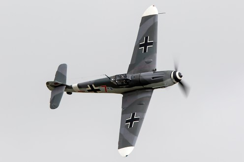 © Adam Duffield • Messerschmitt Bf-109 D-FWME • Flying Legends 2015