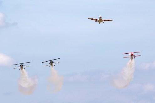 © Adam Duffield • Missing Man Formation • Old Buckenham Airshow 2015