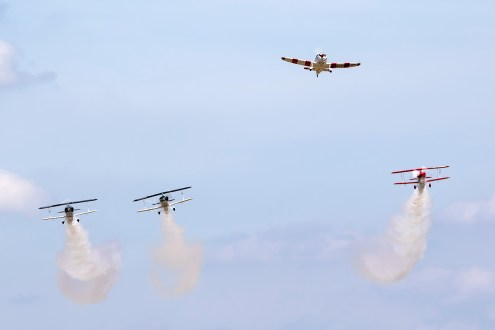 © Adam Duffield • Missing Man Formation • Old Buckenham Airshow 2015