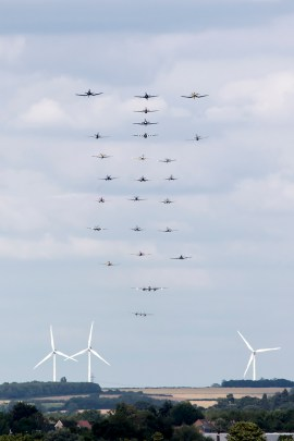© Adam Duffield • Balbo Formation • Flying Legends 2015