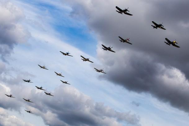 © Adam Duffield • Balbo Formation • Flying Legends 2015