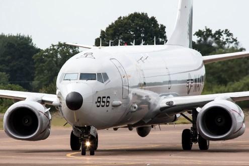 © Adam Duffield • USN Boeing P-8A • RIAT 2015