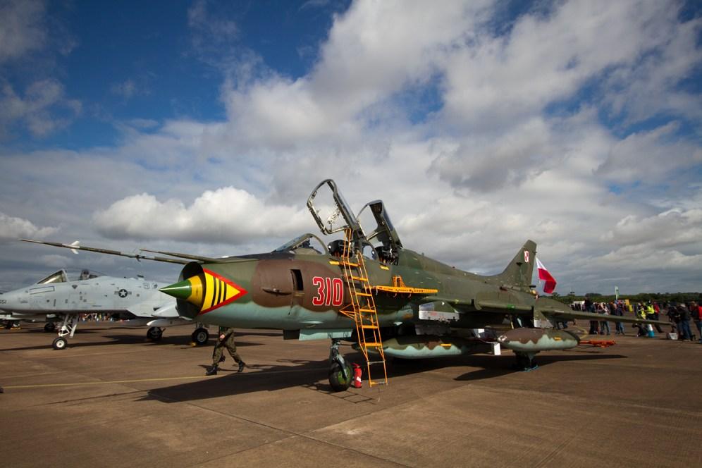 © Mic Lovering • Polish Air Force SU-22 • RIAT 2015