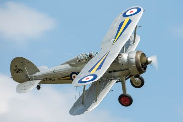 © Harry Measures • Gloster Gladiator • Shuttleworth Military Pageant