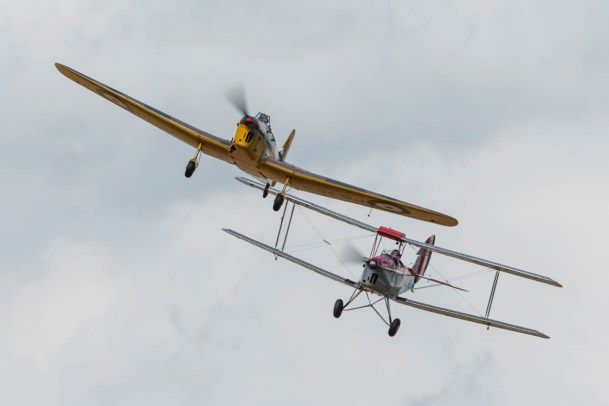 © Harry Measures • Miles Magister & Tiger Moth • Shuttleworth Military Pageant