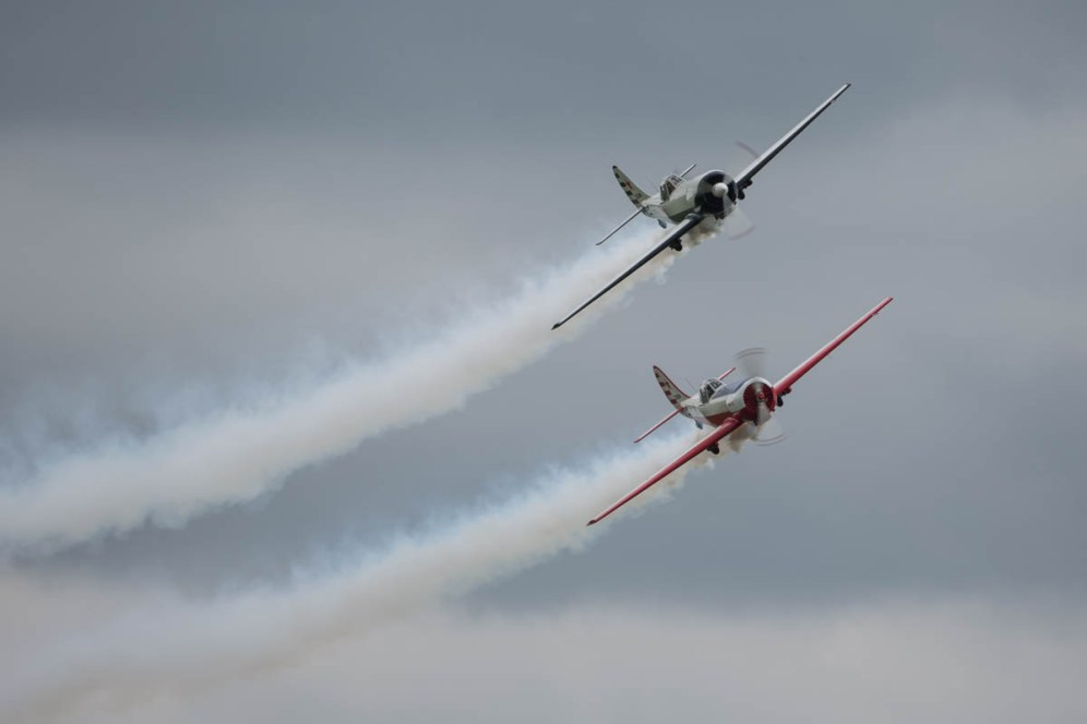© Harry Measures • Yak 50 pair • Shuttleworth Military Pageant