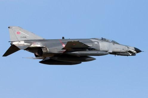© Mark Kwiatkowski • TuAF F-4 Phantom 73-1046 • Anatolian Eagle 2015