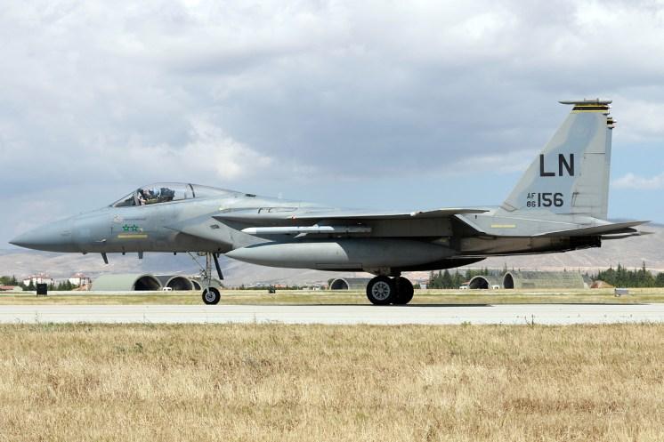 © Mark Kwiatkowski • USAF F-15C 86-0156 • Anatolian Eagle 2015