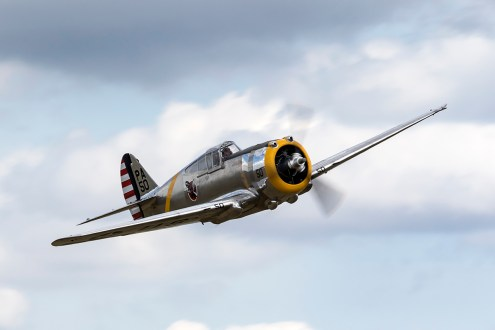 © Adam Duffield • Curtiss P-36C N80FR • Flying Legends 2015