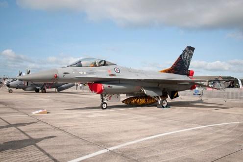 © Duncan Monk • Lockheed Martin F-16AM Fighting Falcon • RNAS Yeovilton Air Day 2015
