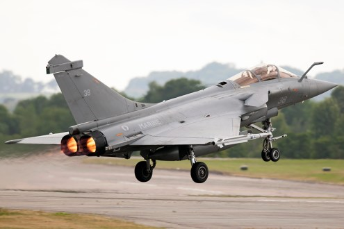 © Duncan Monk • French Navy Role Demonstration - Dassault Rafale M • RNAS Yeovilton Air Day 2015