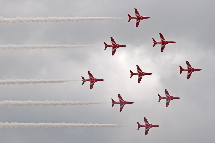 © Duncan Monk • Royal Air Force Aerobatic Team - The Red Arrows • RNAS Yeovilton Air Day 2015