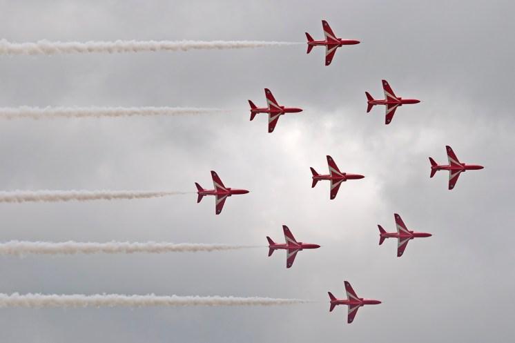 © Duncan Monk • Royal Air Force Aerobatic Team - The Red Arrows • RNAS Yeovilton Air Day 2015