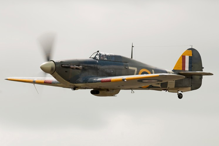 © Duncan Monk • Hawker Sea Hurricane Mk.IIB • RNAS Yeovilton Air Day 2015
