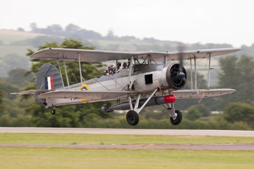© Duncan Monk • Fairey Swordfish Mk.1 • RNAS Yeovilton Air Day 2015