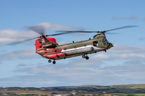 © Ben Montgomery • Boeing Chinook HC.4 ZA712 • RNAS Culdrose Air Day 2015