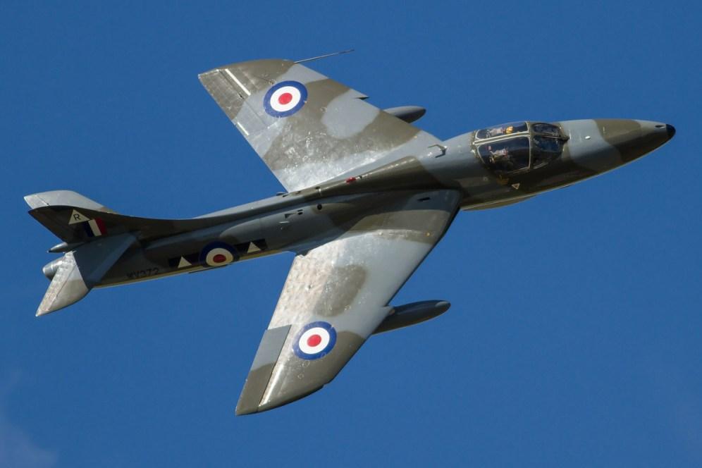 © Ben Montgomery • Hawker Hunter T.7 WV372 • RNAS Culdrose Air Day 2015