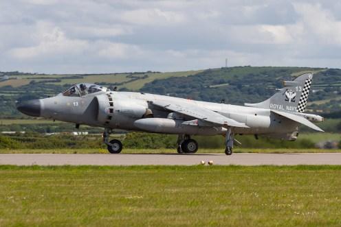 © Ben Montgomery • BAe Sea Harrier FA.2 ZH813 • RNAS Culdrose Air Day 2015