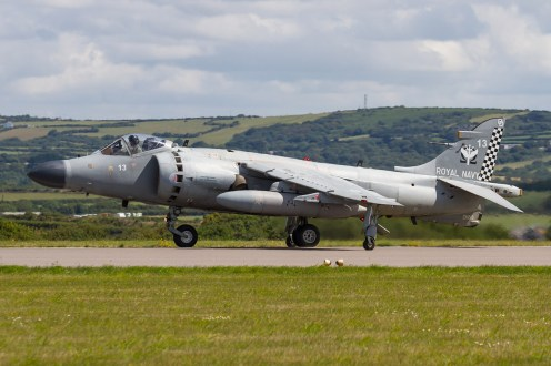 © Ben Montgomery • BAe Sea Harrier FA.2 ZH813 • RNAS Culdrose Air Day 2015