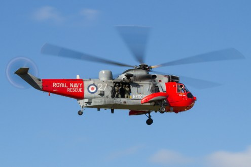 © Ben Montgomery • Sea King HU.5 XV673 • RNAS Culdrose Air Day 2015