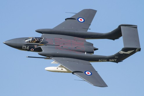 © Ben Montgomery • de Havilland Sea Vixen FAW.2 XP924 • RNAS Culdrose Air Day 2015