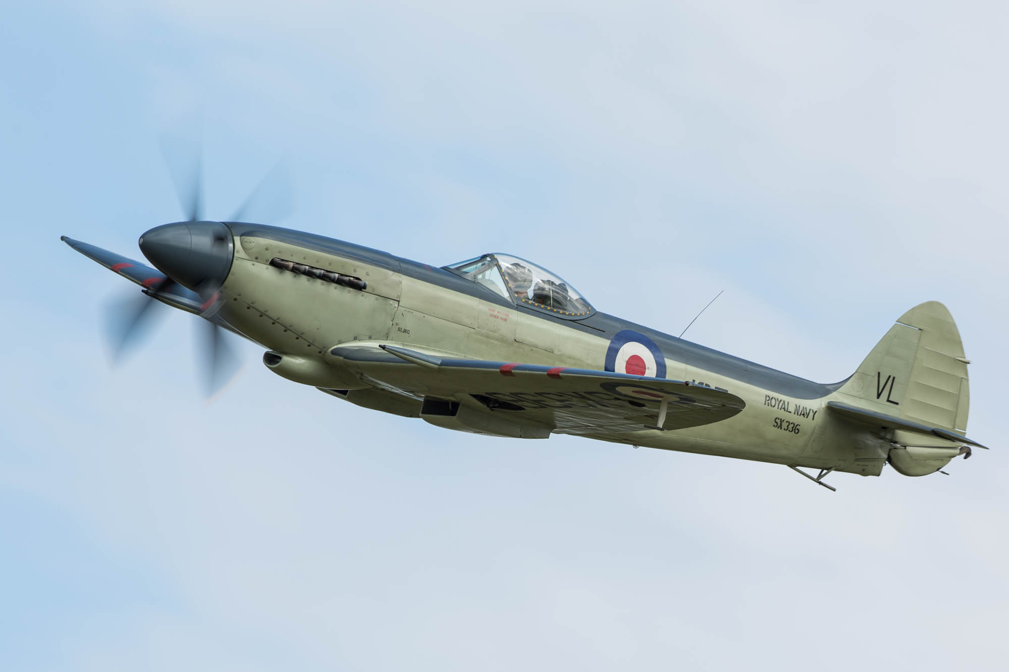 © Harry Measures • Supermarine Seafire • Shuttleworth Military Pageant
