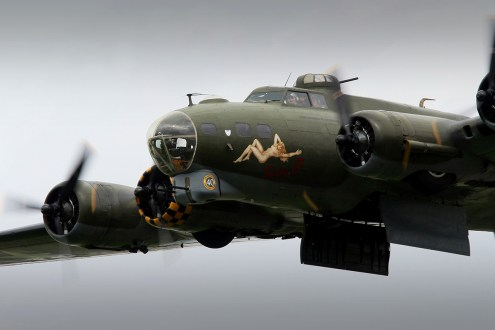 © Jamie Ewan • Boeing B-17G Sally B • Dunsfold Wings & Wheels 2015
