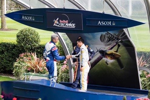 © Adam Duffield • Podium Presentation • Red Bull Air Race - Ascot