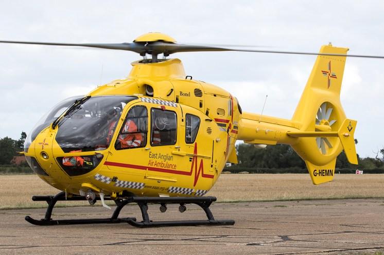 © Adam Duffield • Eurocopter EC-135 G-HEMN • Seething Charity Air Day 2015