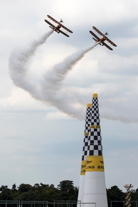 © Adam Duffield • Breitling Wing Walkers • Red Bull Air Race - Ascot