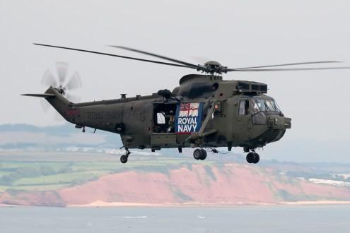 © Duncan Monk • Royal Navy Sea King HC4 • Dawlish Airshow 2015