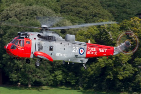 © Michael Lovering • Royal Navy Sea King XV673 • Dawlish Airshow 2015