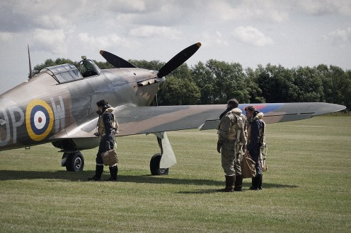 © Jamie Ewan • Hawker Hurricane MkI R4118 • East Kirkby Airshow