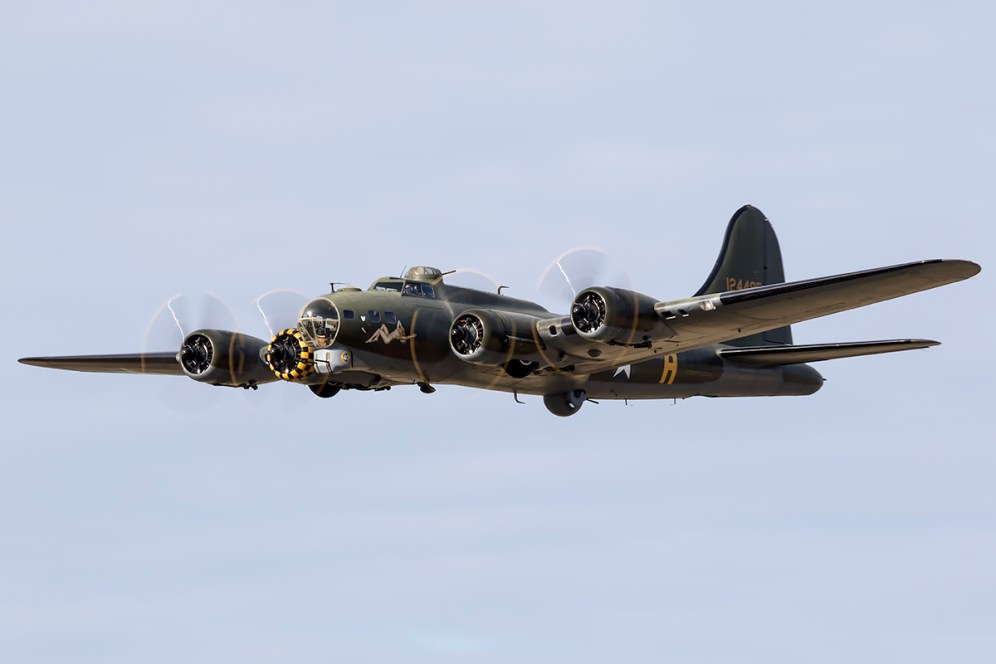 © Adam Duffield • Boeing B-17G Sally B • Seething Charity Air Day 2015