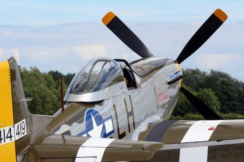 © Jamie Ewan • North American P-51D Mustang 'Janie' G-MSTG • East Kirkby Airshow
