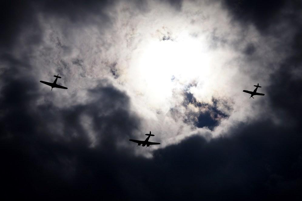 © Jamie Ewan • Blenheim, Hurricane & Mustang • East Kirkby Airshow