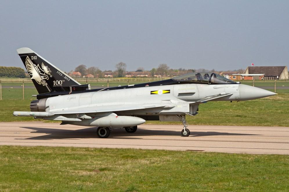 © Ben Montgomery • Eurofighter Typhoon FGR4 ZJ925 • RAF Special Paint Schemes 2015
