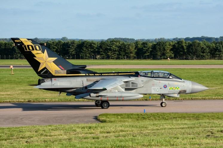 © Mark Ranger • Panavia Tornado GR.4 ZA548 • RAF Special Paint Schemes 2015